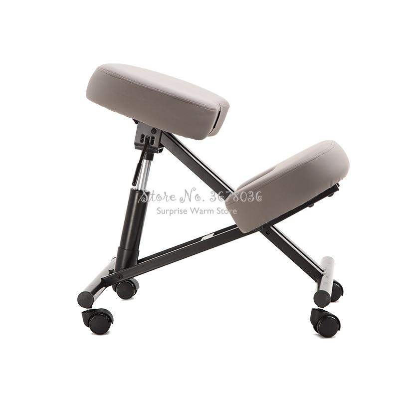 54-62cm Height Adjustable Designed Kneeling Chair Stool Multifunction Office Knee Chair Ergonomic Correct Posture Chair