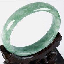 Jadery 100% Grade A Natural Emerald Jade Bangle Women Handmade Carved Gemstone Bracelets & Bangles Party Fine Jewelry Drop Ship