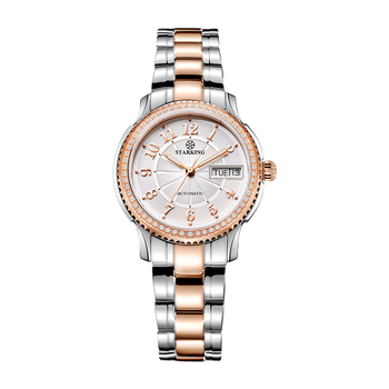 STARKING Women Mechanical Watch Miyota Movt Stainless Steel Wristwatch Sapphire Automatic Self-wind Bracelet Relogios Femininos 6