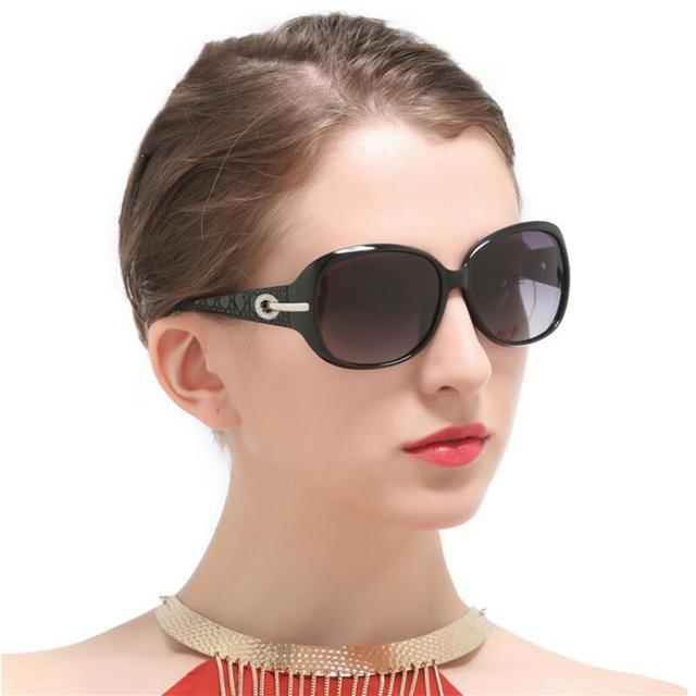 Ladies Driving Sunglasses Women UV400 Luxury Brand Design Sunglasses Vintage Oval Shades Sun Glasses Female lunette de soleil