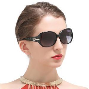 Image 1 - Nữ Lái Xe Kính Mát Nữ UV400 Cao Cấp Thương Hiệu Thiết Kế Kính Mát Vintage Hình Bầu Dục Bóng Kính Chống Nắng Nữ Nguyệt San Lunette De Soleil