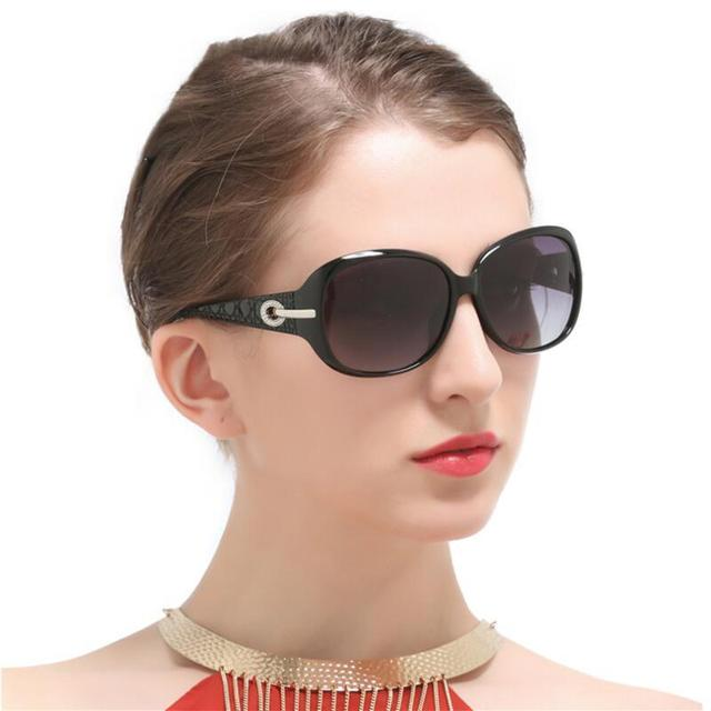 Nữ Lái Xe Kính Mát Nữ UV400 Cao Cấp Thương Hiệu Thiết Kế Kính Mát Vintage Hình Bầu Dục Bóng Kính Chống Nắng Nữ Nguyệt San Lunette De Soleil