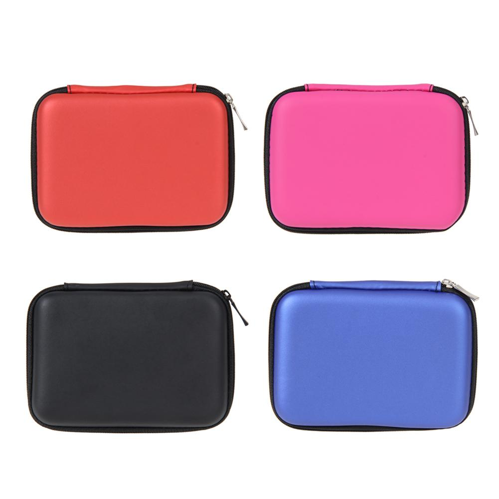2.5 Inch HDD Bag External USB Hard Drive Disk Carry Mini USB Cables Case Cover Pouch Earphone Bag for PC Laptop Hard Disk Case 2