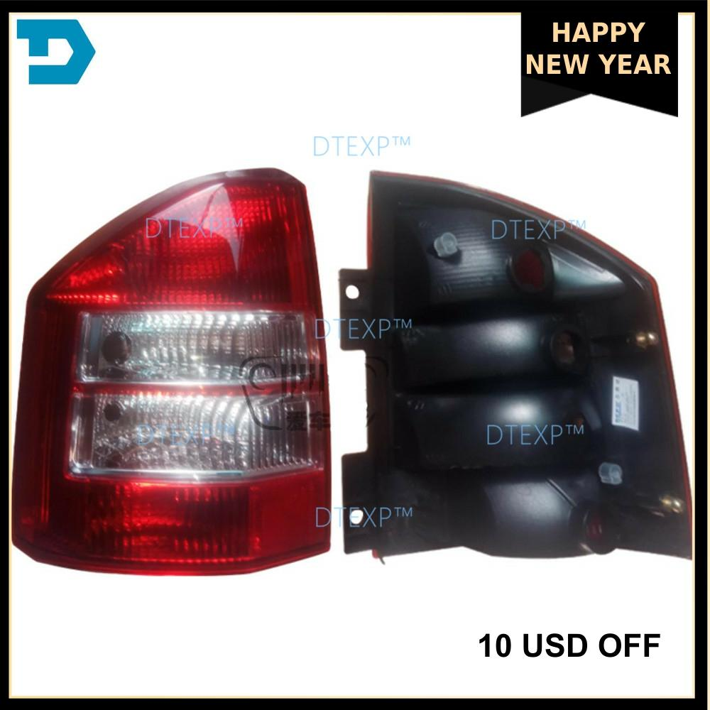 2007-2011 Halogen Tail Lamp For Compass Tail Light Without Bulb 2011-2017 Led Warning Lights  Rear Turn Signal  Rear Lights