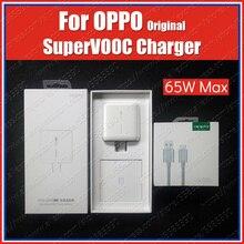 Chargeur dorigine OPPO 65W Super VOOC appliquer à OPPO trouver X2 Pro Reno 4 Ace 2 Reno 5 Pro 2z 2f 10x zoom trouver x a5 a9 2020