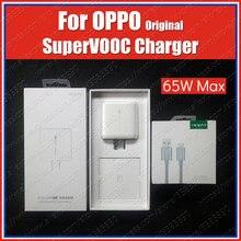 Original oppo 65w super vooc carregador aplicar para oppo encontrar x2 pro reno 4 ace 2 reno 5 pro 2z 2f 10x zoom encontrar x a5 a9 2020