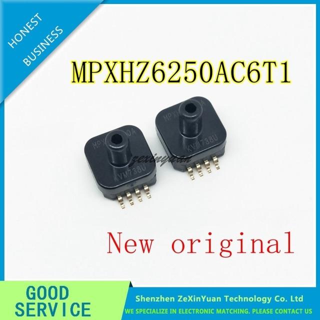 5 unids/lote MPXHZ6250A MPXHZ6250AC6T1 de presión de SENSOR ABS AXIAL 8 SSOP