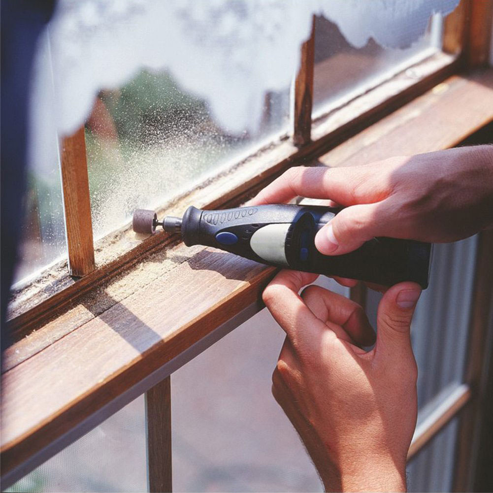384 Pieces Aluminum Oxide Parts Multi Grit Grinding Abrasive Sanding Band Sleeves Drum Sander Set Rotary Tool Mandrels Nail Work