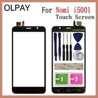 5.0 inch inch polegada de vidro da tela toque do telefone móvel para nomi i5001 evo m3 digitador sensor hd painel substituição da tela toque|Painel de toque p/ celular| |  -