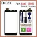 OLPAY 5,0 ''100% nueva pantalla táctil de teléfono móvil para Nomi i5001 Evo M3 Sensor digitalizador pantalla táctil de repuesto de Panel HD