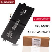 KingSener SQU 1605 Laptop battery For ACER Swift 7 S7 371 SF713 51 For ACER Spin 7 SP714 51 41CP3/67/129 15.4V 41.58WH/2700mAh