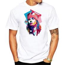 Antidazzle Guns n Roses Axl Rose T Shirt Mens Cotton Boy Top Rock Band Music Short Sleeve Man O Neck Tshirt Guy Tee 2019