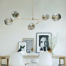 Luster pingente vintage para escada e sala de jantar, luminária industrial retrô preta dourada