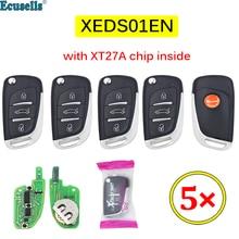 5 TEILE/LOS Xhorse XEDS01EN VVDI Super Fernbedienung mit XT27 XT27A66 Chip Arbeit für VVDI2 /VVDI MINI Schlüssel Werkzeug/VVDI Schlüssel Werkzeug Max