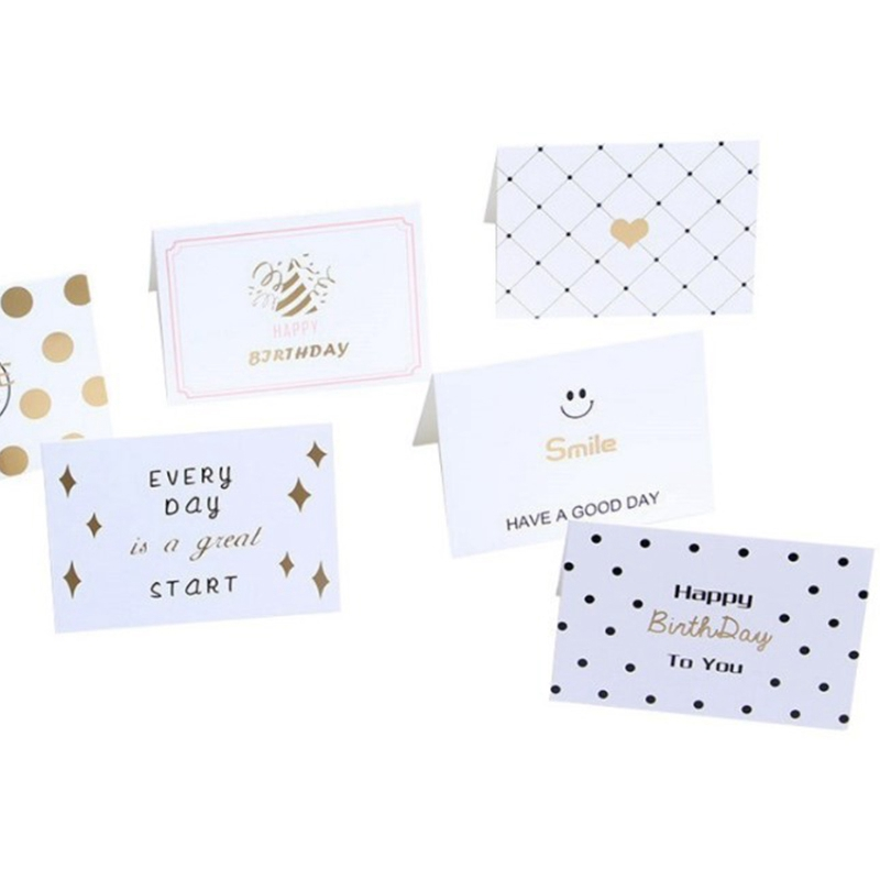 120 Sheets / Batch Of Thanksgiving Card Mixed Color Cartoon Creative Heart Shaped Card Greeting Card Universal Gift Card