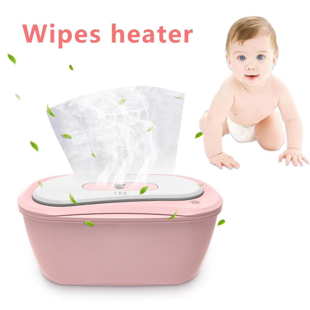 Baby Wipes Heaters Wipe Warmer And Baby Wet Wipes Dispenser Portable Charging Wipes Box