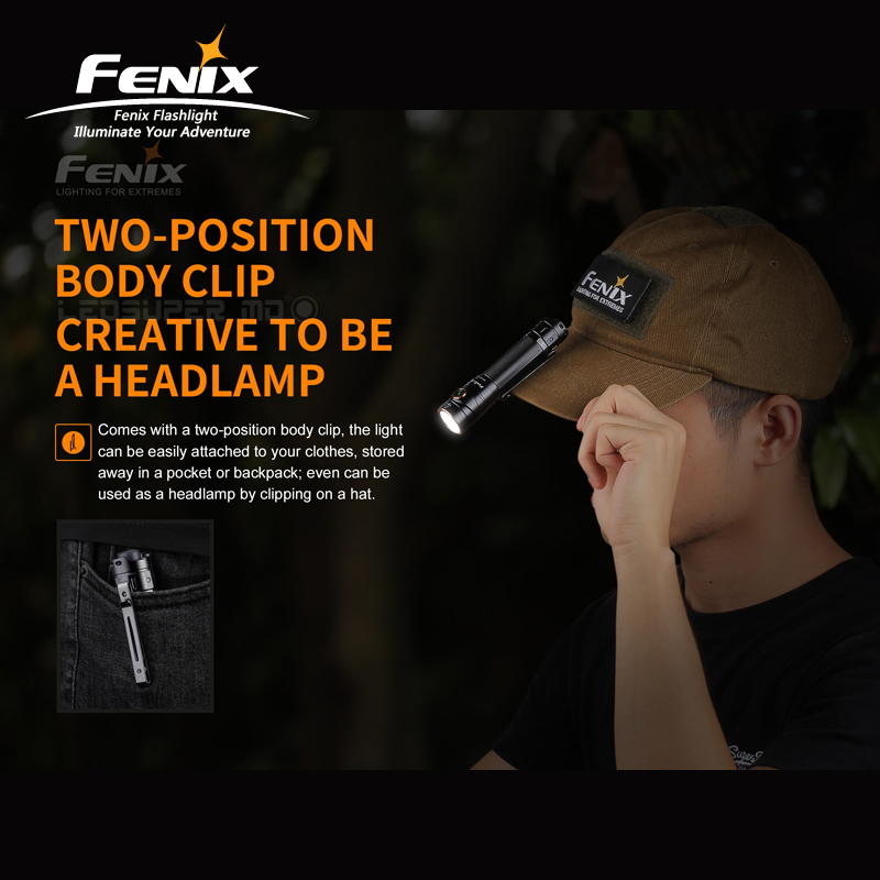 New Arrival 1600 Lumens Fenix LD30 Ultra compact Outdoor Flashlight with High Output - 4