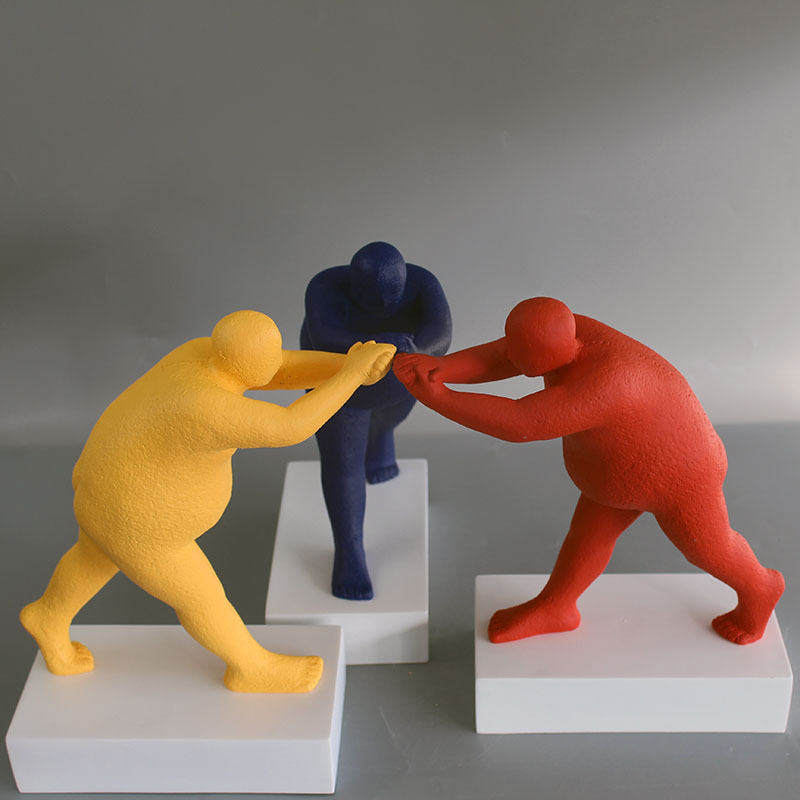 Fat Body Modern Sculpture - Sculptures Under $500