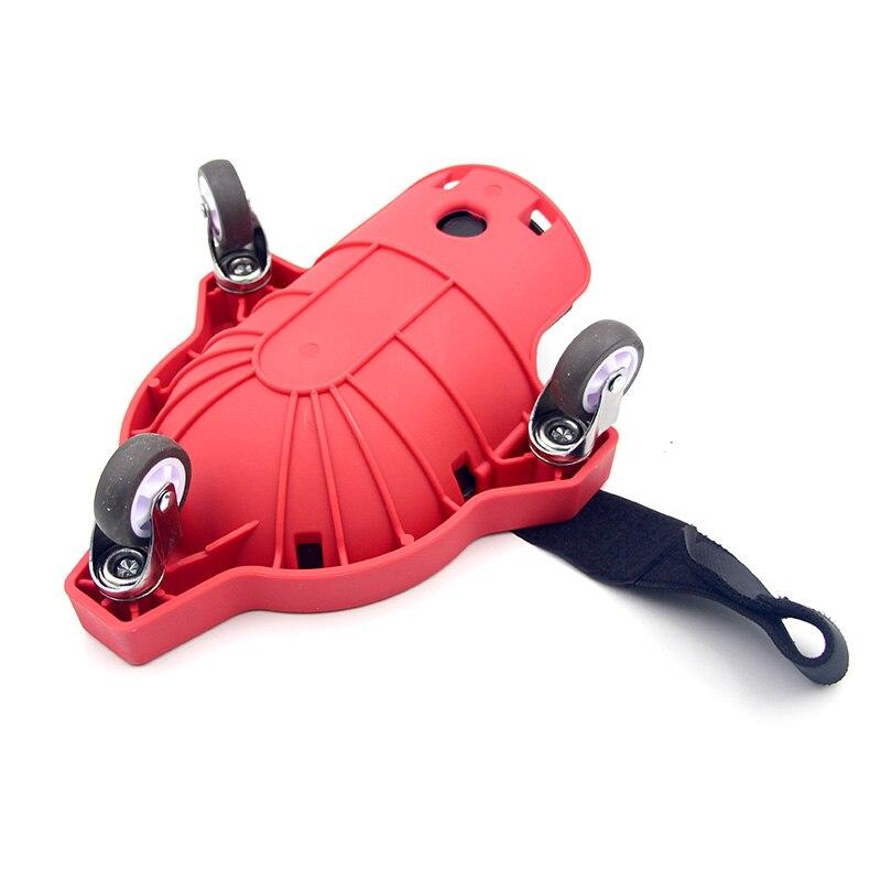 360°Knee Protection Pad With Built-In Foam Padded Laying Platform Wheel Kneeling Pad Work Wheel Blades Knee Pad