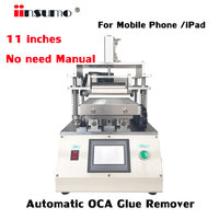11 inch Automatic Touch Screen OCA Glue Removing Clean Machine For iPhone lg Huawei Xiami Tablet iPad Repair Refurbish