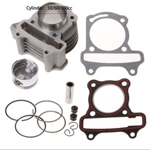 Big Bore Kit Cylinder Piston Rings fit for GY6 50cc 60cc 100cc 4 Stroke Scooter Moped ATV(China)