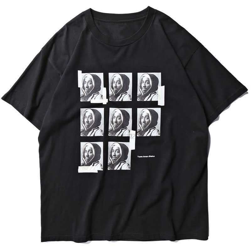 Gonthwid 2PAC トゥパック · シャクールの amaru tシャツストリートメンズヒップホップラッパートップス tシャツヒップスターカジュアル半袖 tシャツ男性