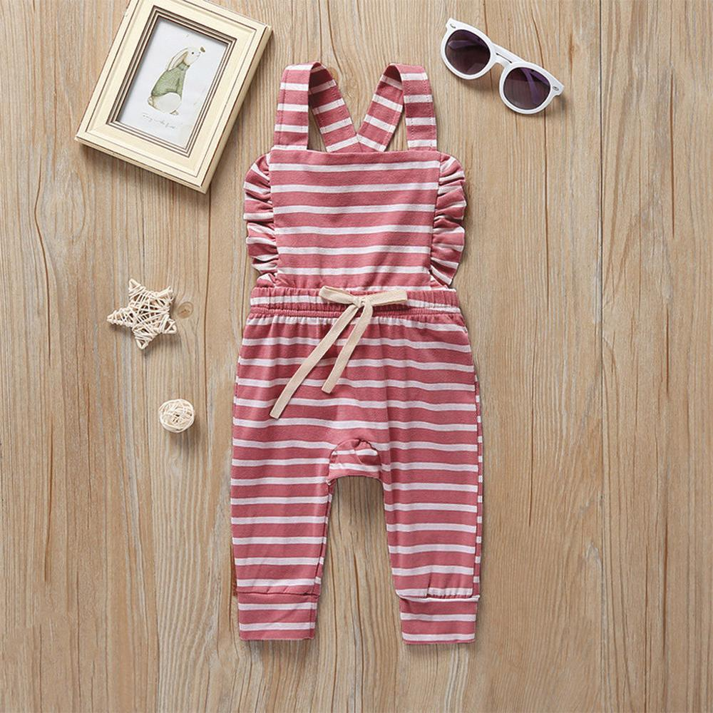 Newborn Baby Girl Boy Backless Striped Ruffle Romper Overalls Jumpsuit Clothes Onesies kid clothing toddler clothes Newborn Baby Girl Boy Backless Striped Ruffle Romper Overalls Jumpsuit Clothes Onesies kid clothing toddler clothes baby costume