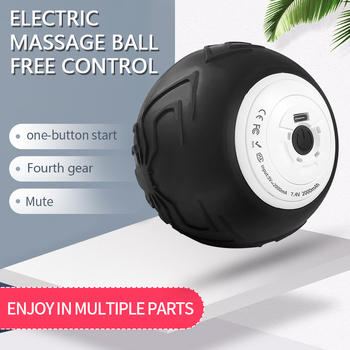 Super Powerful Massage Ball Electric Fitness Massage Ball High Vibration Body Massage Relaxation Ball Noiseless Body Exerciser