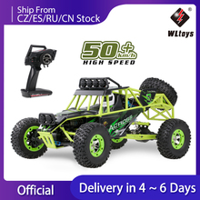 Wltoys 12428 1/12 RC Car 2.4G 4WD Electric Brushed Racing Crawler RTR 50km/h High Speed