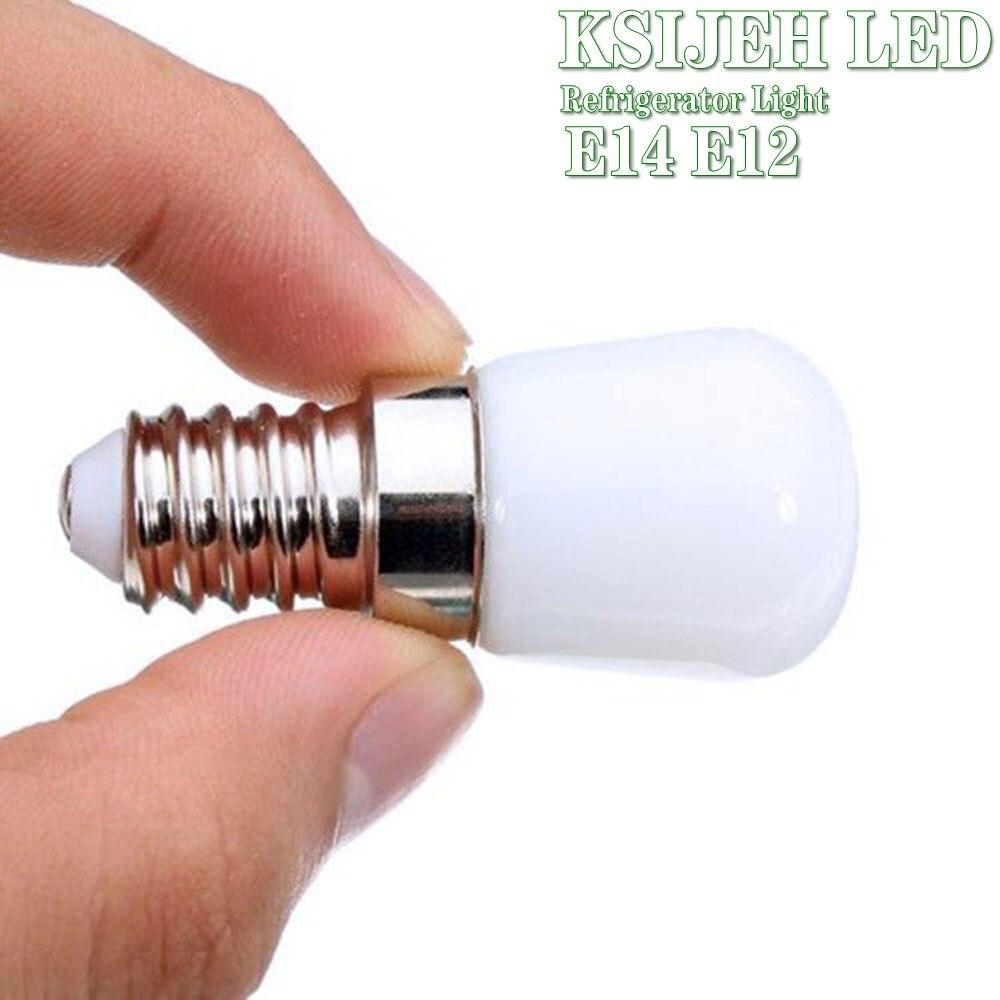 Холодильник светильник E14 E12 светодиодный светильник светодиодный точечный встраиваемый светильник мощностью 5 Вт Стекло с регулируемой яр...