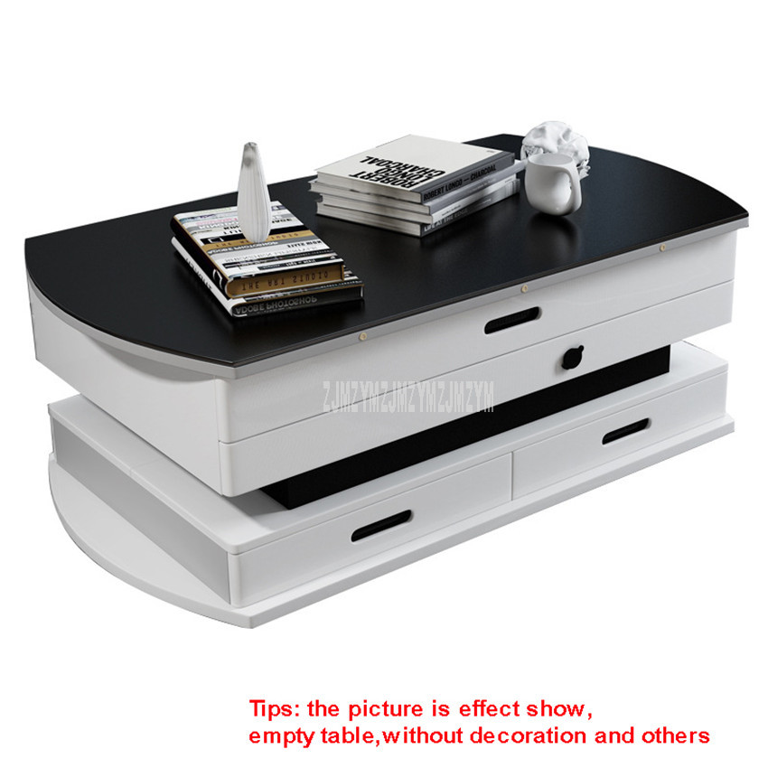 Creative Living Room Furniture Multi-functional Tea Table Can Be Using As Dining Table Electric Lifting Foldable Sofa Side Table
