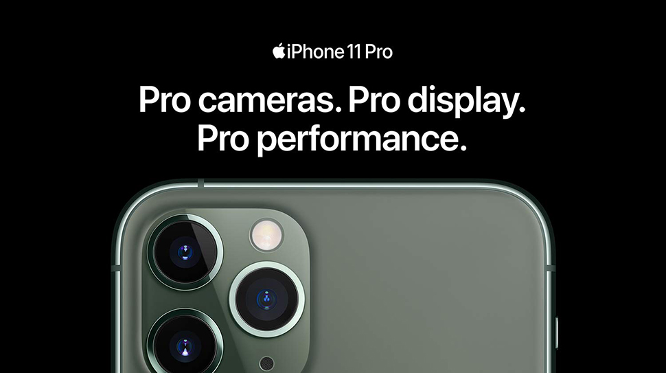 "Apple iPhone 11 Pro Max 6.5"" Super Retina Triple-camera system"