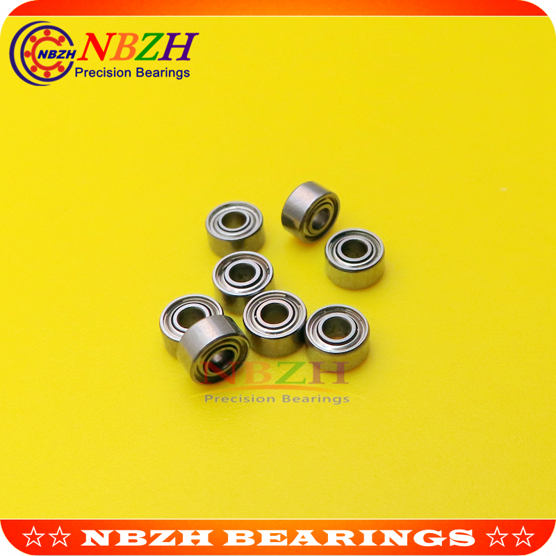 2x5x2.3mm 682zz Metal Double Shielded Ball Bearing Bearings 2*5*2.3 5 Pcs