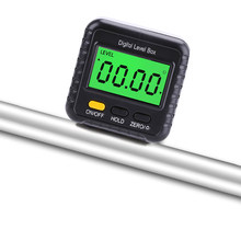 Mini rapporteur numérique inclinomètre goniomètre électronique niveau Angle mesure mètre chercheur boîte de niveau jauge d'angle numérique