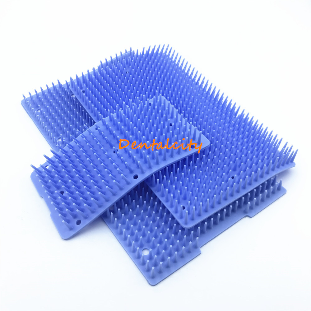 Silicone Mats For Sterilization Tray Case Box Surgical Instrument Isolation And Disinfection Mats