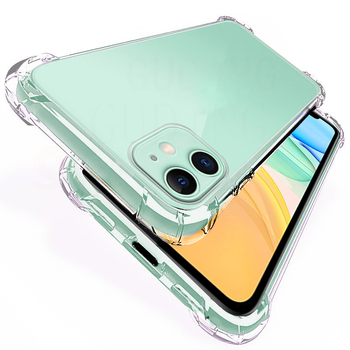 Luxury Shockproof Phone Case For iPhone 11 Pro SE 2020 X XS Max XR 7 8 6 6S Plus Case Transparent Silicone Protection Back Cover image