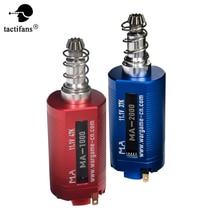 TACTIFANS Airsoft AEG Bürstenlosen Motor Plug-in CNC Lange Achse Hight Geschwindigkeit Drehmoment D Ritzel V2 Getriebe M4 paintball Zubehör