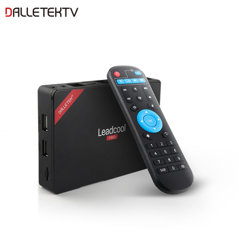 Leadcool pro Android 8.1 TV Box 1G8G 2G16G Smart TV Box Quad Core Full HD 1080P 4K 3D HDMI 2.0 Wifi without Subscription