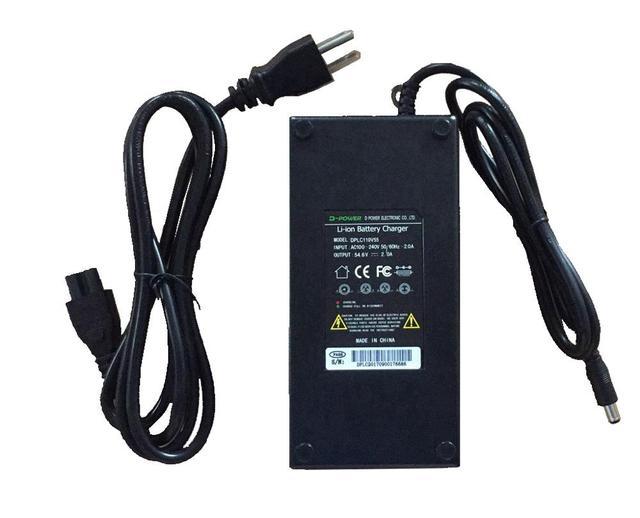 Зарядное устройство Li-ion, зарядное устройство 2A/4A/5A для 48 В/52 в/72 в, литий-ионный аккумулятор для электрического велосипеда, батарея для элект...