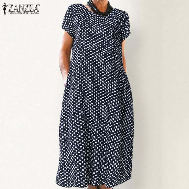 classic  dress, comfortable and has pockets, day dress 3