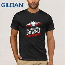 2019 Hot Sale Fashion Dumna Men's Patriotic T-Shirt Poland P