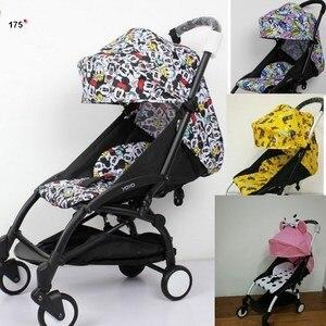 Image 1 - Wandelwagen Accessoires voor Babyzen Yoyo Kinderwagen Baby Yoya Kinderwagen zonnescherm Vizier Kap Seat Pad kinderwagen Matras Kussen