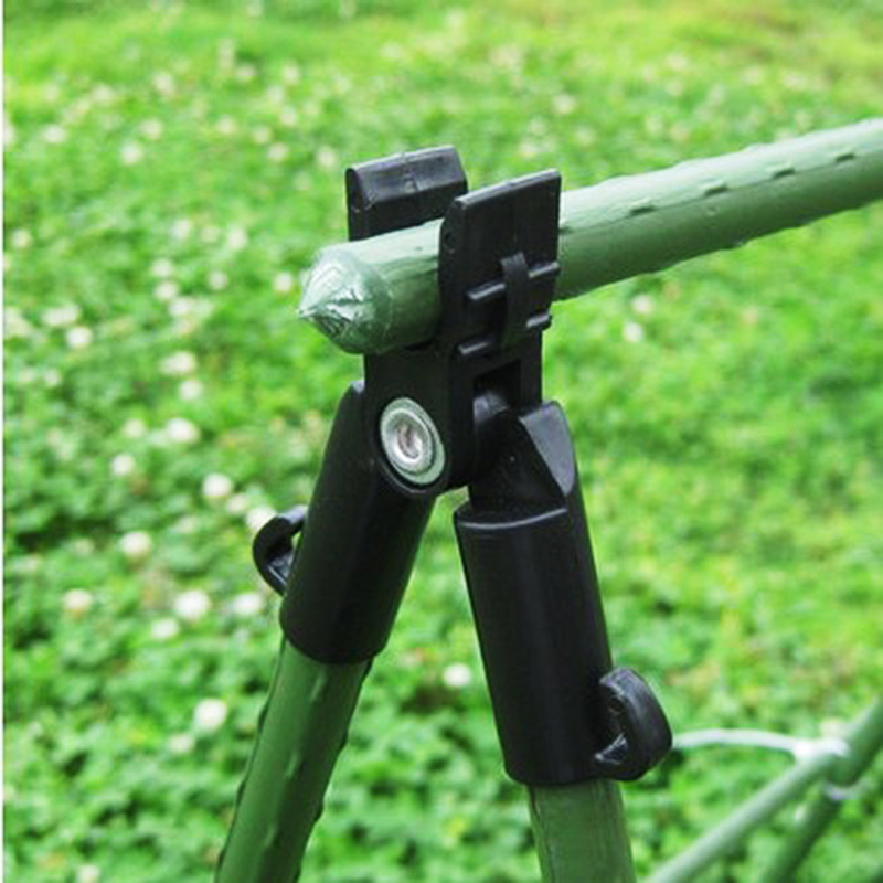 5pcs/lot 16mm Plastic Plant Stakes Connectors Adjustable Greenhouse Bracket Pole Fixed Clamp Gardening Pillar Support Forks