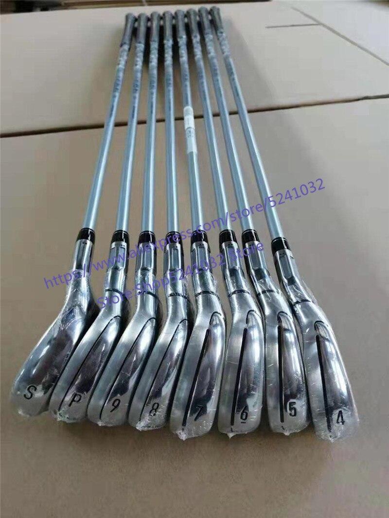 Clubs de Golf 2019 M6 fer modèle M6 fer ensemble fers fers de Golf 4 9PS (8 pièces) R/S Flex acier/Graphite arbre avec couvercle de tête - 3