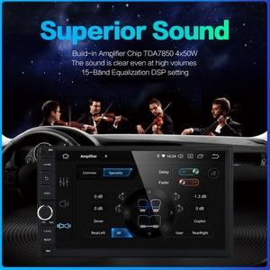 """Image 3 - Dasaita 2 DIN Android 10.0 AutoRadio 7 """"uniwersalny samochód bez odtwarzacza DVD GPS Stereo Audio jednostka główna wsparcie DAB DVR OBD"""