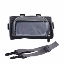 Мотоцикл электрический передний руль вилка сумка для хранения велосипеда передняя рама контейнер для сумок ткань Водонепроницаемый мото пакет с молниями