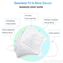 N95 Mask Suitable for All Kinds of Bridge of Nose Close To Face Dust Mask Gas Mask Disposable Mask for Epidemic Prevention