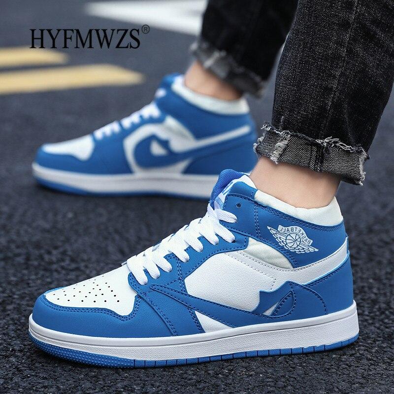 HYFMWZS chaussures décontractées en polyuréthane de haute qualité hommes élégant respirant Couple Sapatos antidérapant Zapatillas Hombre Deportiva 36-45