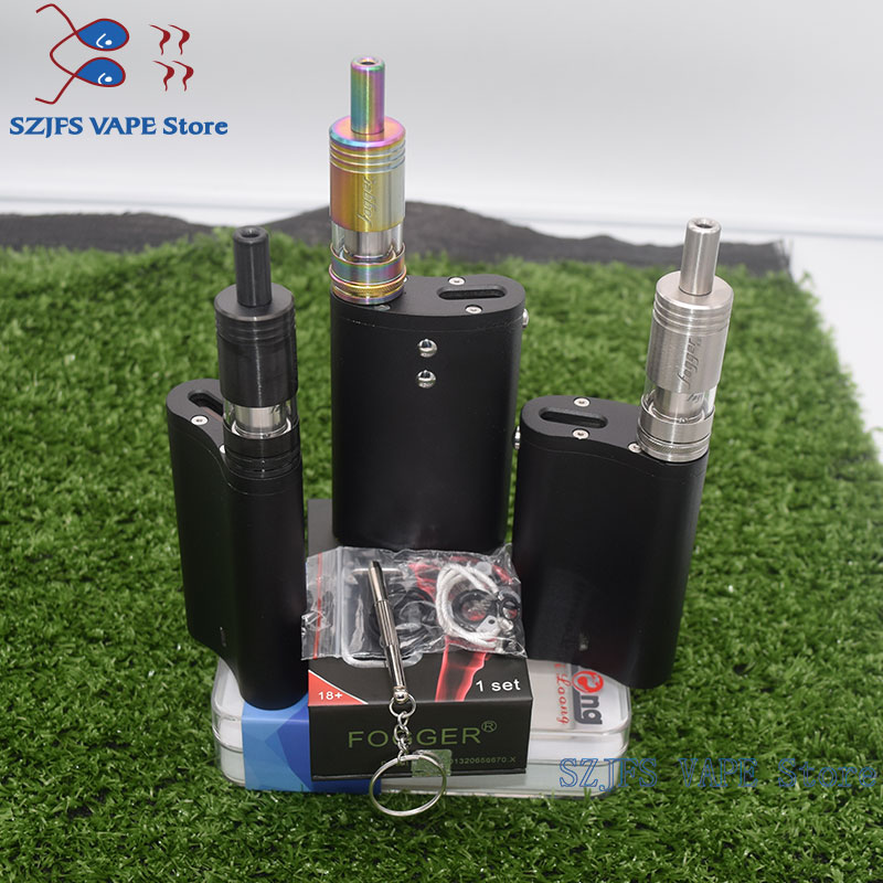 E Cigarette Flask DNA Box Mod With 50W Temperature Control For Dual 18650 Battery Large Smoke Dna 75 Chip Think Vape Finder Box