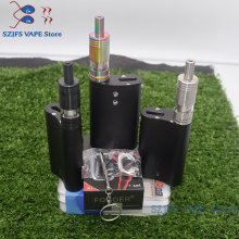 e cigarette Flask DNA Box Mod with 50W temperature control for Dual 18650 battery large smoke dna 75 chip Think Vape Finder